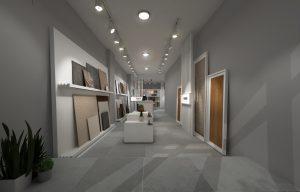 Diseño interiores: Tienda Martec Showroom -Ethereal Design -Trabajos