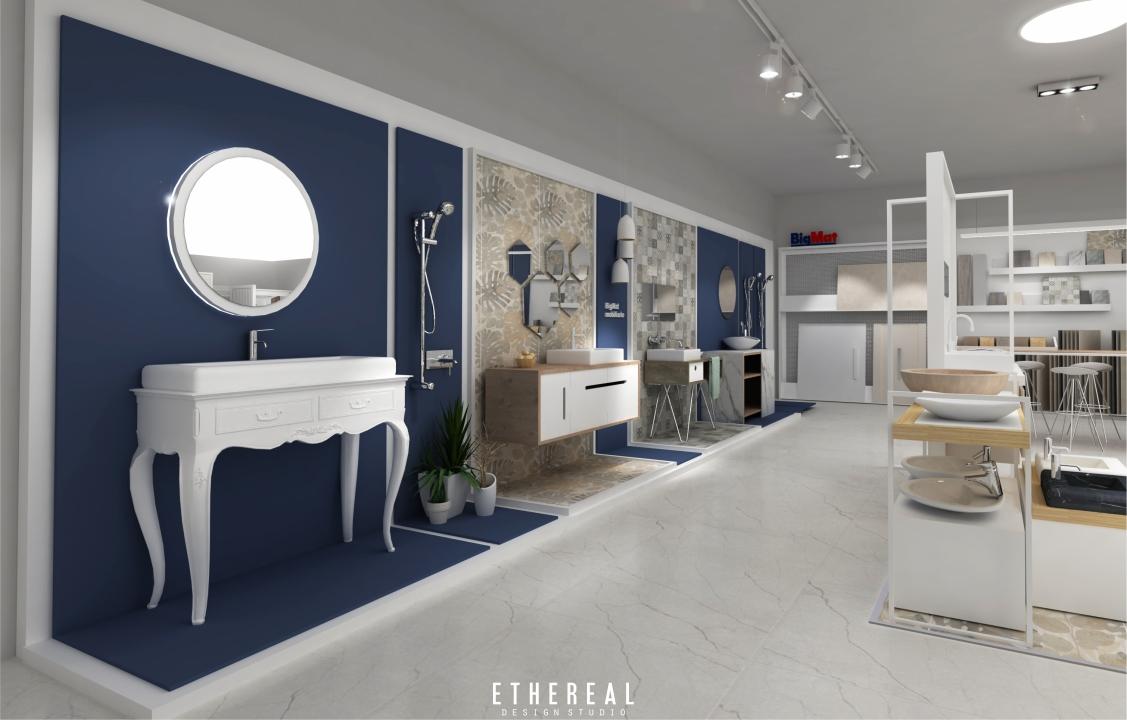 Diseño Exposicion Tienda BigMat Cuba - Ethereal Design-Trabajos