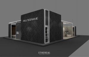 Diseño Stands -Multicerame Feria SIB 2016 - Ethereal Design Trabajos-