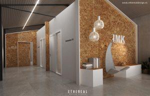 Diseño Espacios Oficinas IMK - Ethereal Design Trabajos